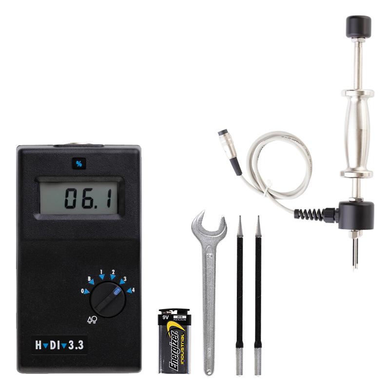 Moisture Meter H-DI 3.3K Professional