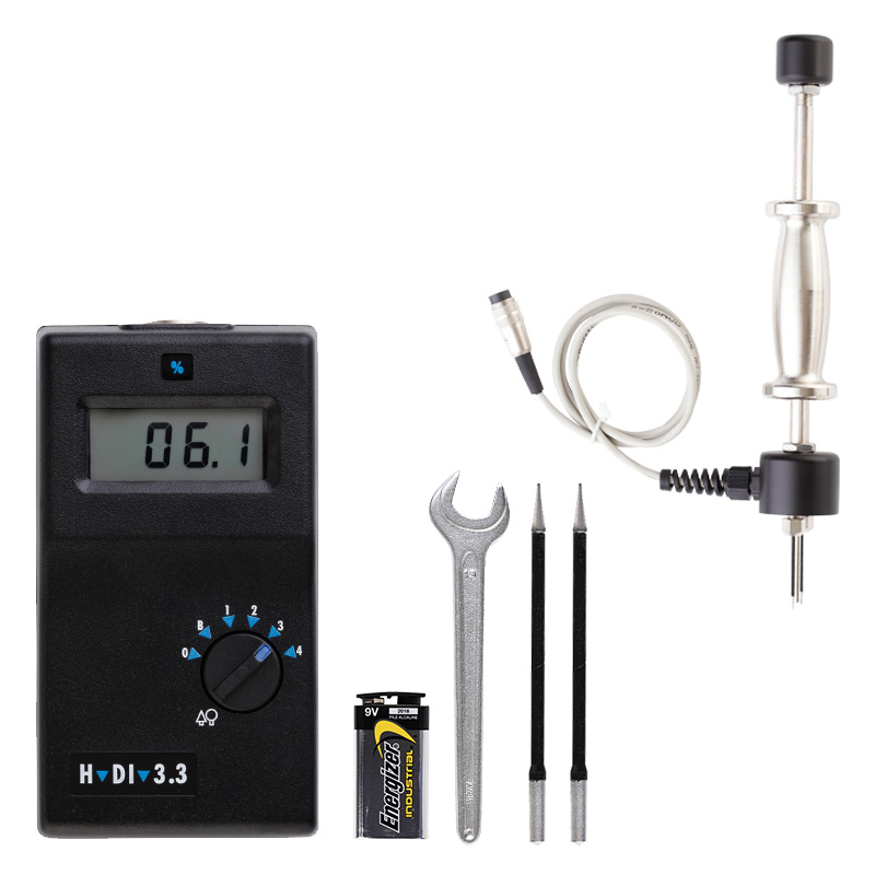 Vochtmeter H-DI 3.3K Professional