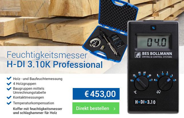Feuchtigkeitsmesser h-di 3.10k professional
