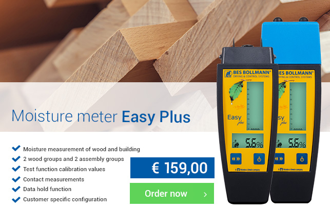 Moisture meter Easy Plus van BES Bollmann